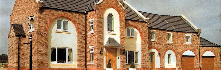 W A Hare & Son Ltd's newly built house at Sandhill Farm, Brayton