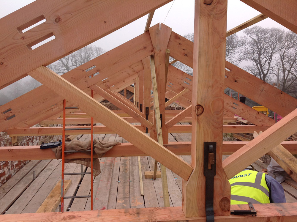 Specialist-kingpost-trusses