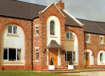 W A Hare & Son Ltd's newly built house at Sandhill Farm, Brayton